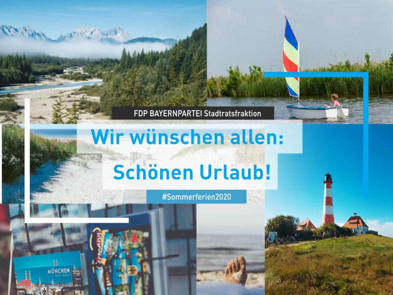 FDP BAYERNPARTEI Stadtrat wünscht schöne Ferien