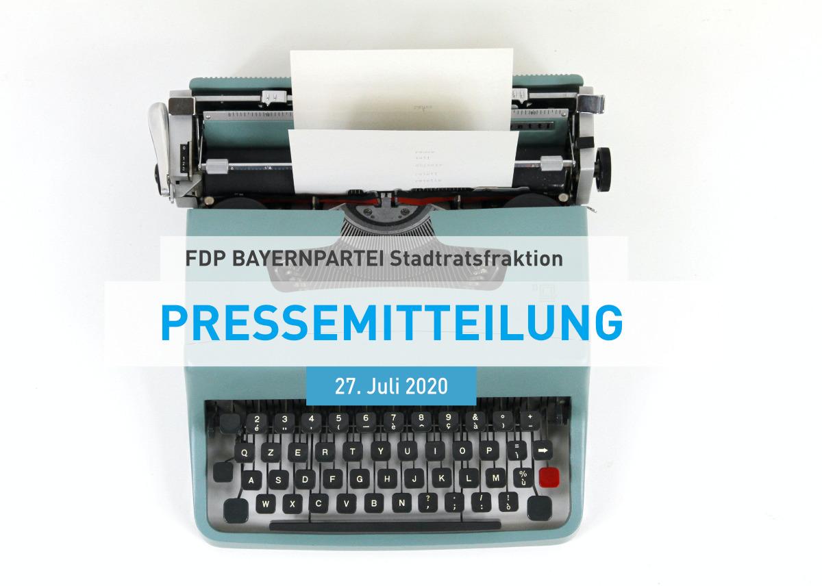 FDP Bayernpartei Stadtratsfraktion München Pressemitteilung