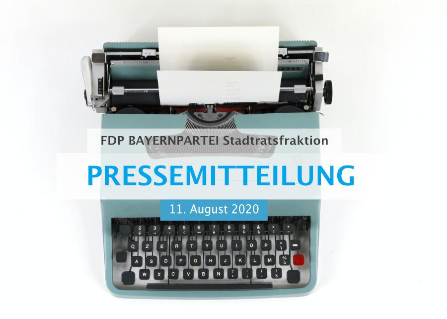 Pressemitteilung FDP BAYERNPARTEI Stadtratsfraktion München