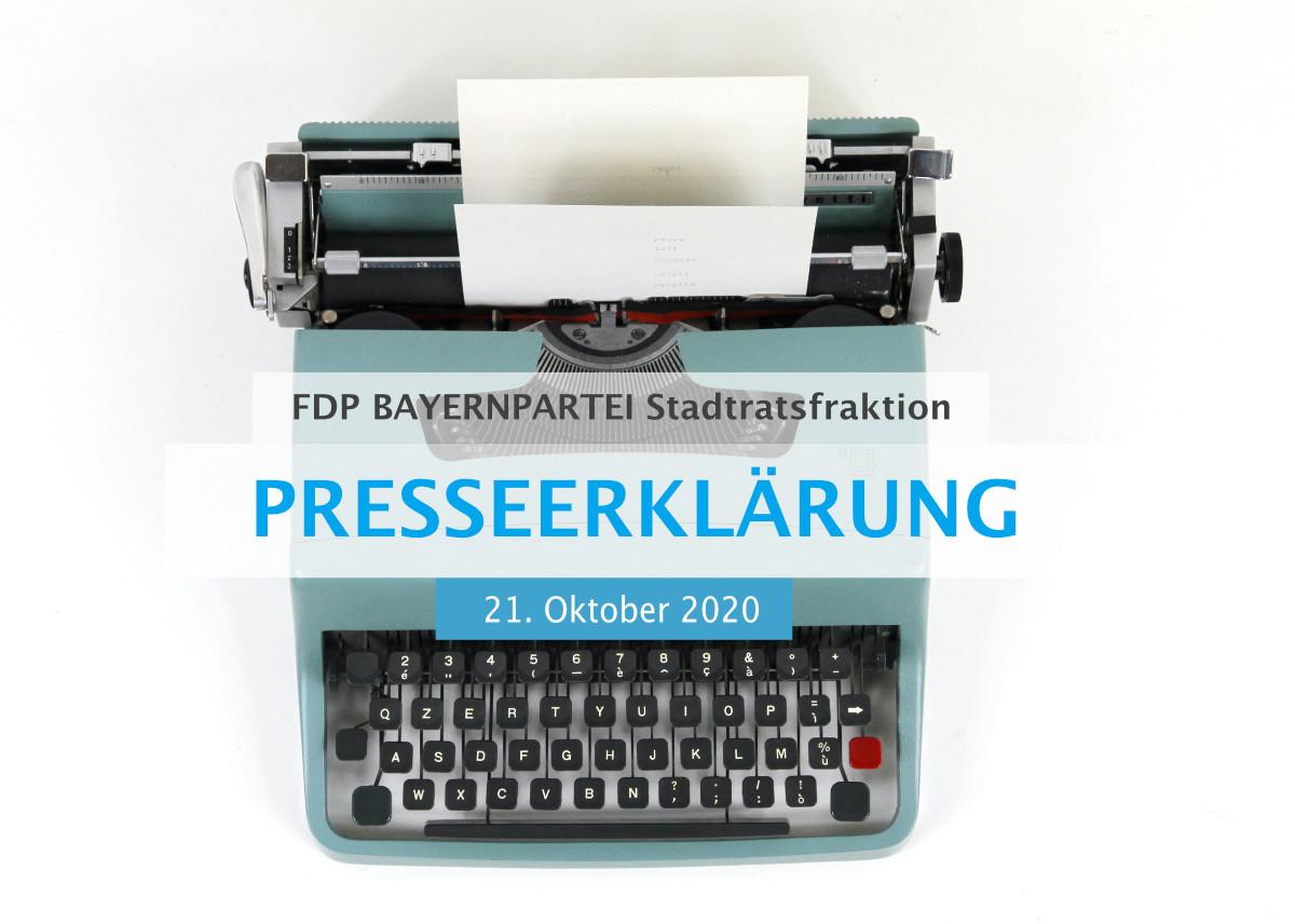 Presseerklärung fdp bayernpartei stadtratsfraktion