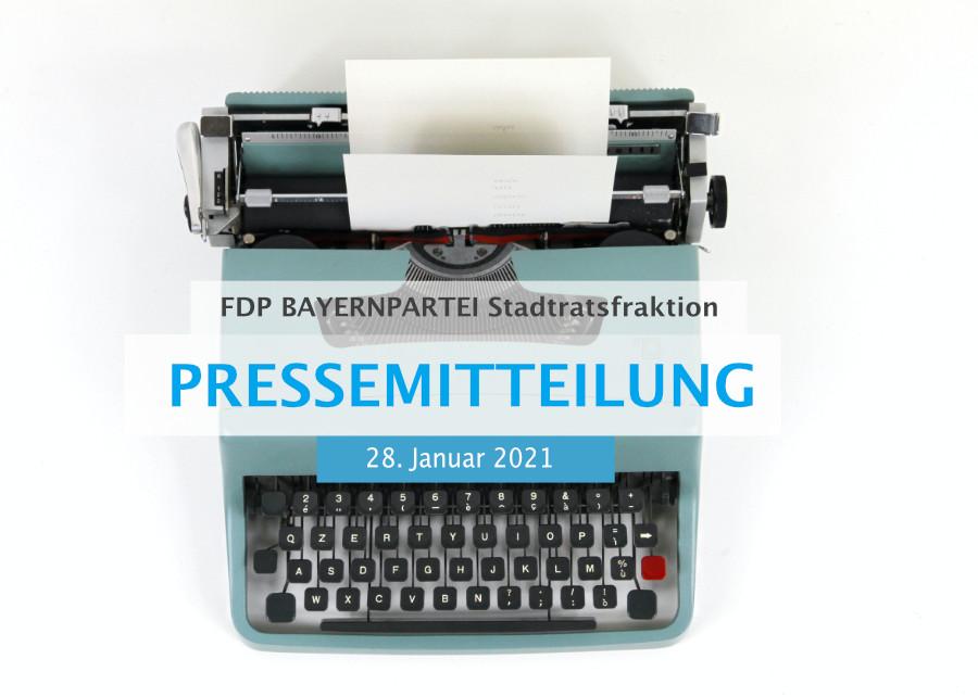 Pressemittelung der fdp bayernpartei stadtratsfraktion