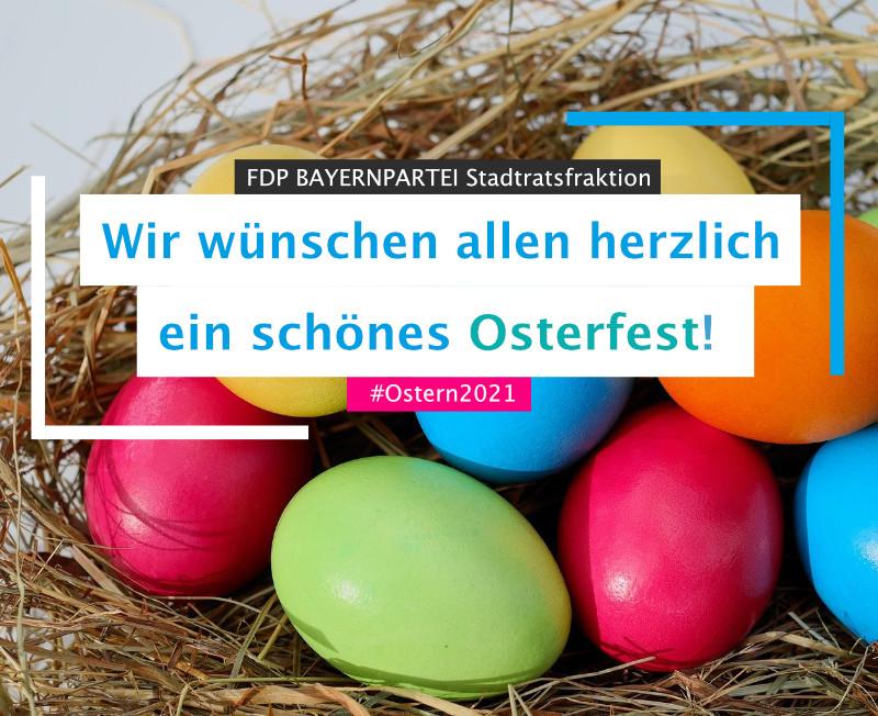 Ostern Grüße FDP BAYERNPARTEI