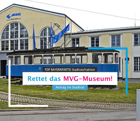 Rettet das MVG Museum – Antrag im Stadtrat