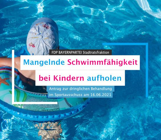 Antrag Mangelnde Schwimmfähigkeit bei Kindern