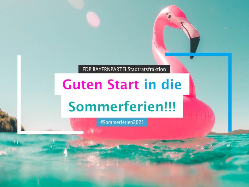 Wir wünschen alle tolle #Sommerferien2021 !