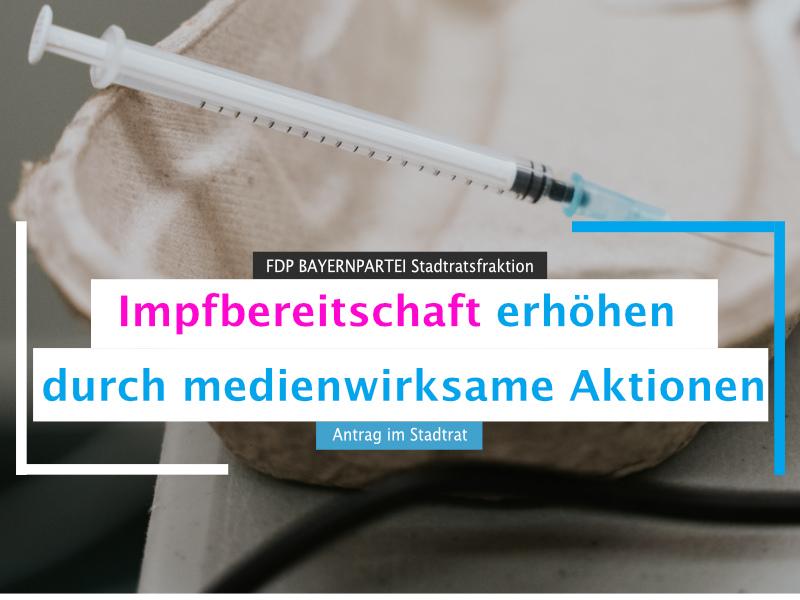 Impfbereitschaft München erhöhen