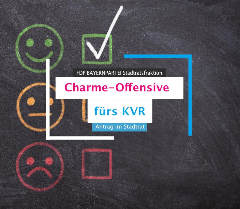 Charme-Offensive fürs Kreisverwaltungsreferat